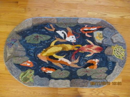 Koi Pond Pattern