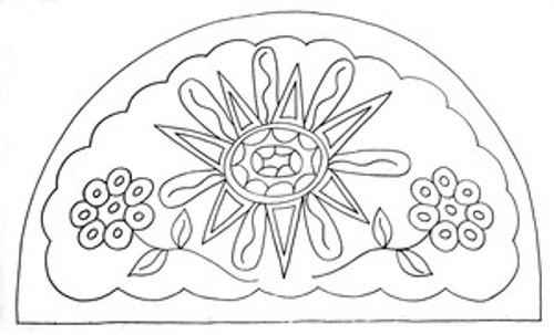 Sunburst & Penny Flowers