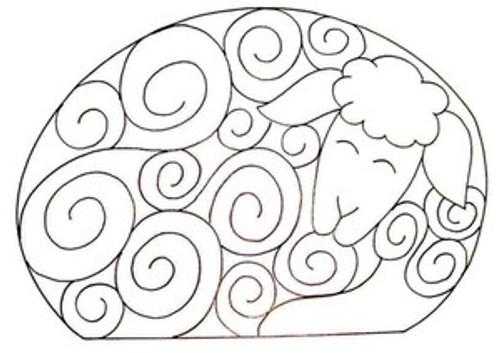 Sheep Dreams rug size