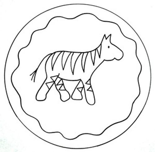 Noah's Zebra