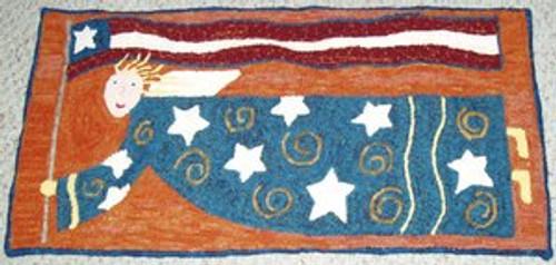 Flying Liberty Angel