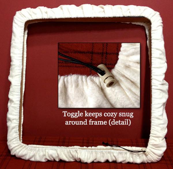 Rug Frame Cover Cozy ( Lap frame)