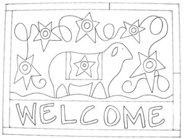 Sheep Welcome