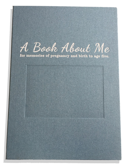 A Book About Me Blue Cover