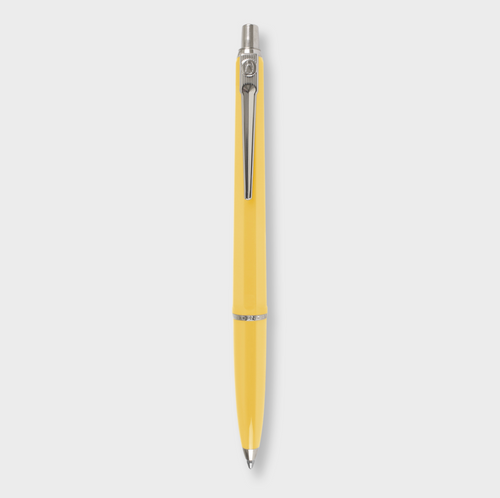 Yellow Ballograf Ballpoint Pen