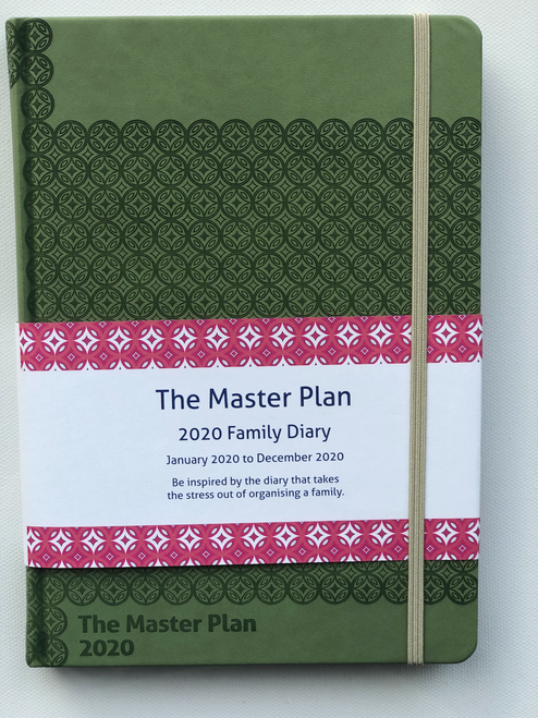 Master Plan Diary - Jan 2020 - Dec 2020 Pistachio