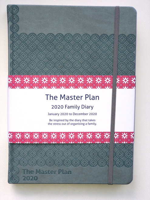 Master Plan Diary - Jan 2020 - Dec 2020 Queensland Blue (Limited)