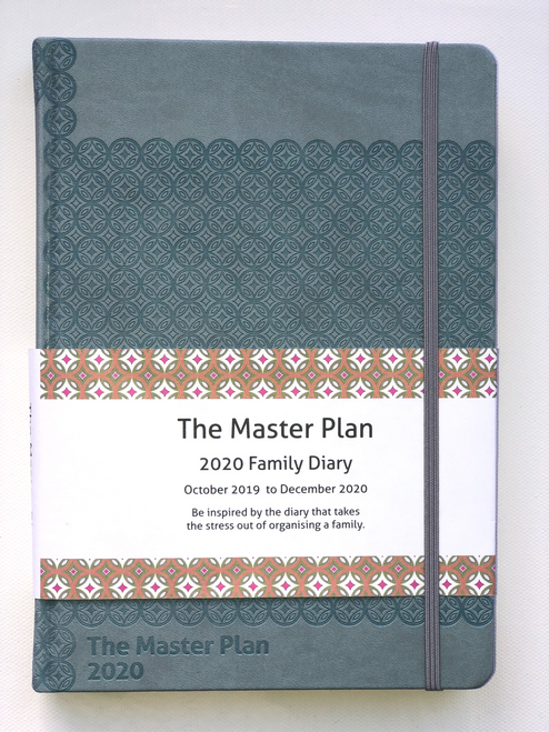 2020 Master Plan Diary  - Queensland Blue
