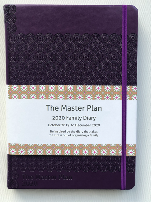 2020 Master Plan Diary  - Passionfruit