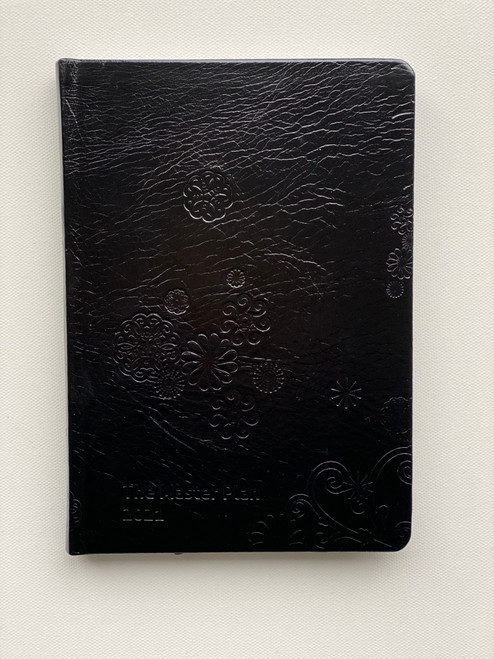 Jan - Dec 2021 Master Plan Diary  - Black Liquorice from Amsterdam (Leather)