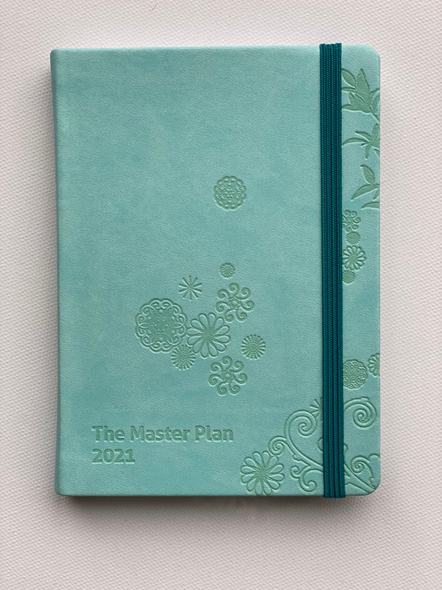 Mini 2021 Master Plan Diary  - Blue Lagoon in Bora Bora