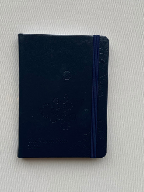 Mini 2021 Master Plan Diary  - Peacoat Navy in Leather