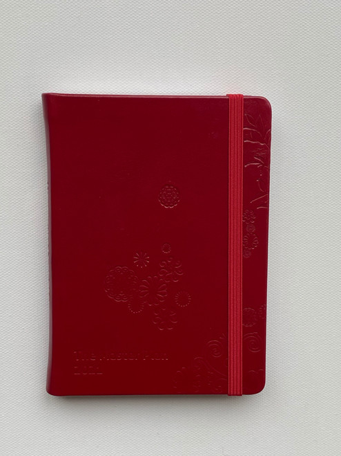 Mini 2021 Master Plan Diary  - Red Light District in Red Leather