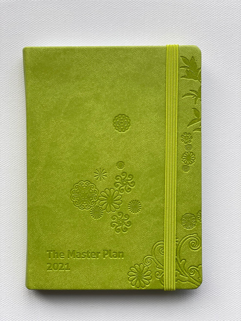 Jan-Dec Mini 2021 Master Plan Diary  - Wasabi in Japan