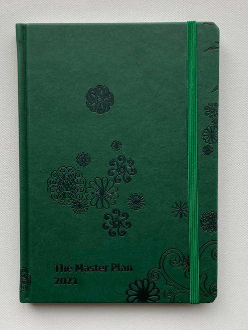 Jan - Dec  Master Plan Diary  - Pine Forest Green