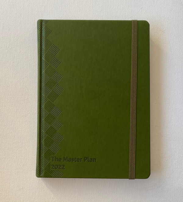 2022 Master Plan Diary  - Olive