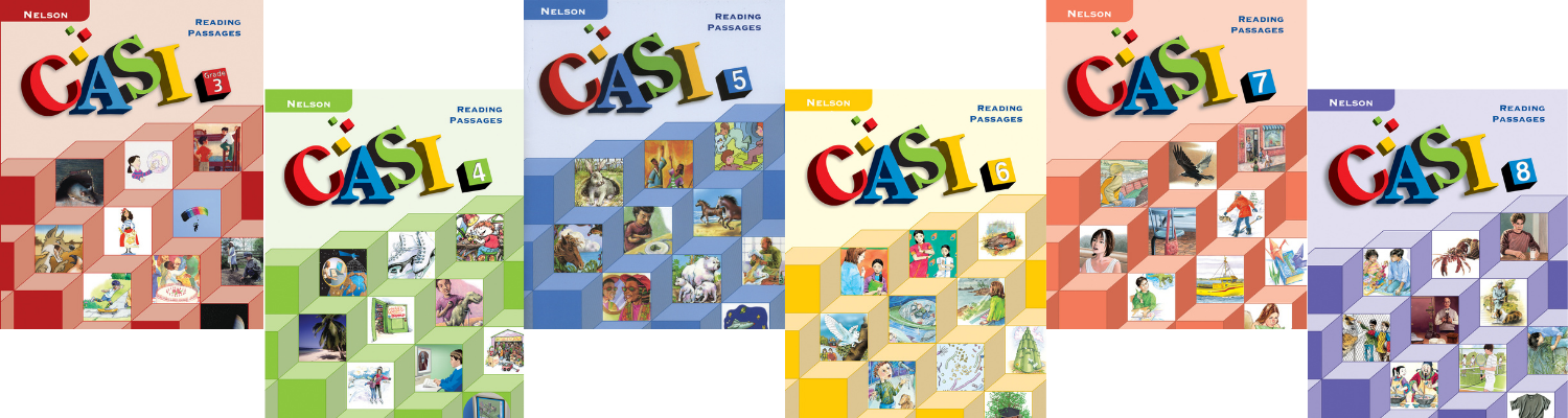 CASI Reading Assessment: Grades 3 to 8
