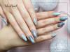 Hybrid Nail Polish 6 ml - Silver Aquarelle