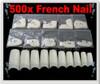 500 French Nail Tips - Natural