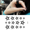 Stars Tattoo Body Stickers