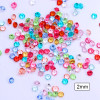 1000 pcs Candy Color Transparent Rhinestones