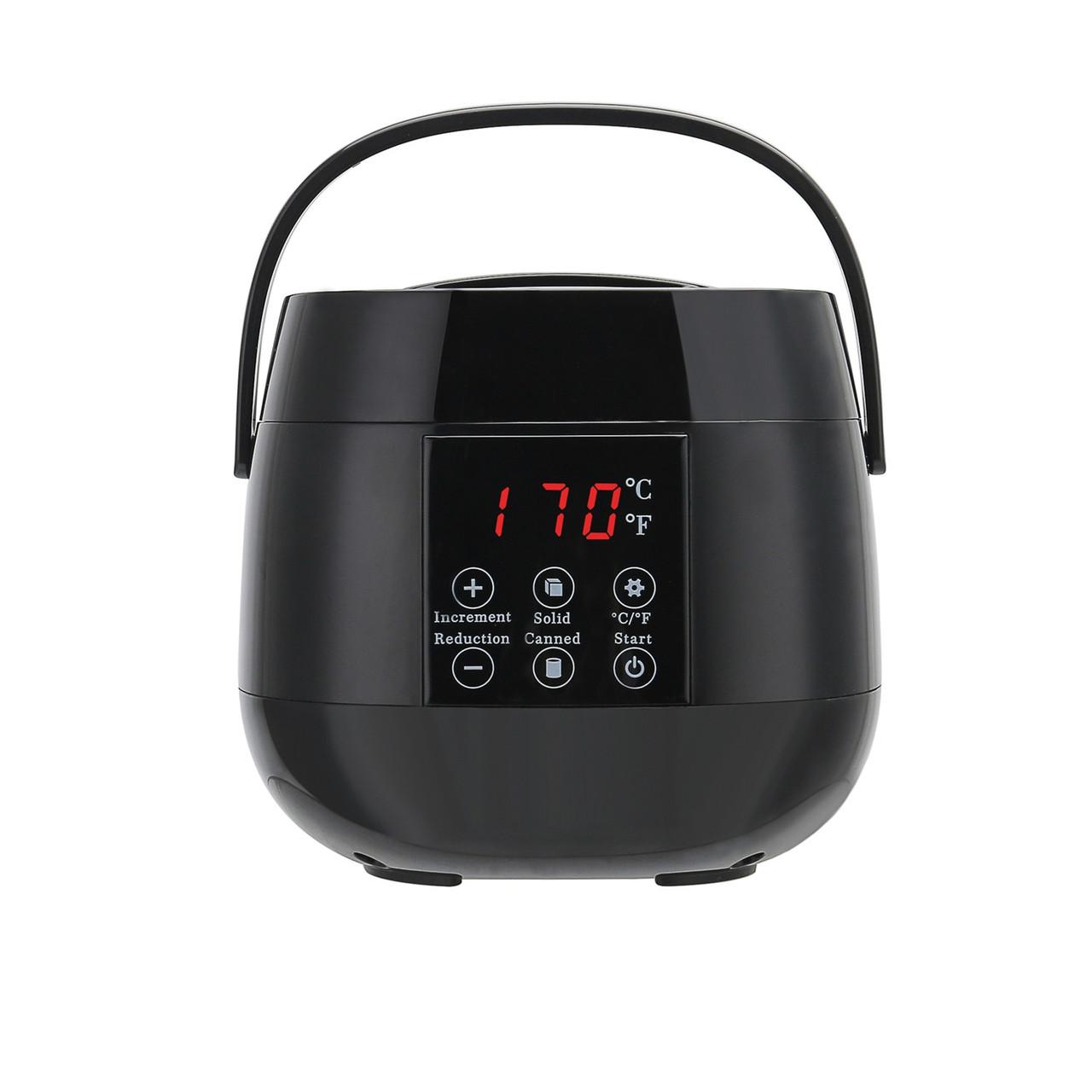 Hair Removal Tool Lcd Display Smart Wax Heater Hands Feet Epilator
