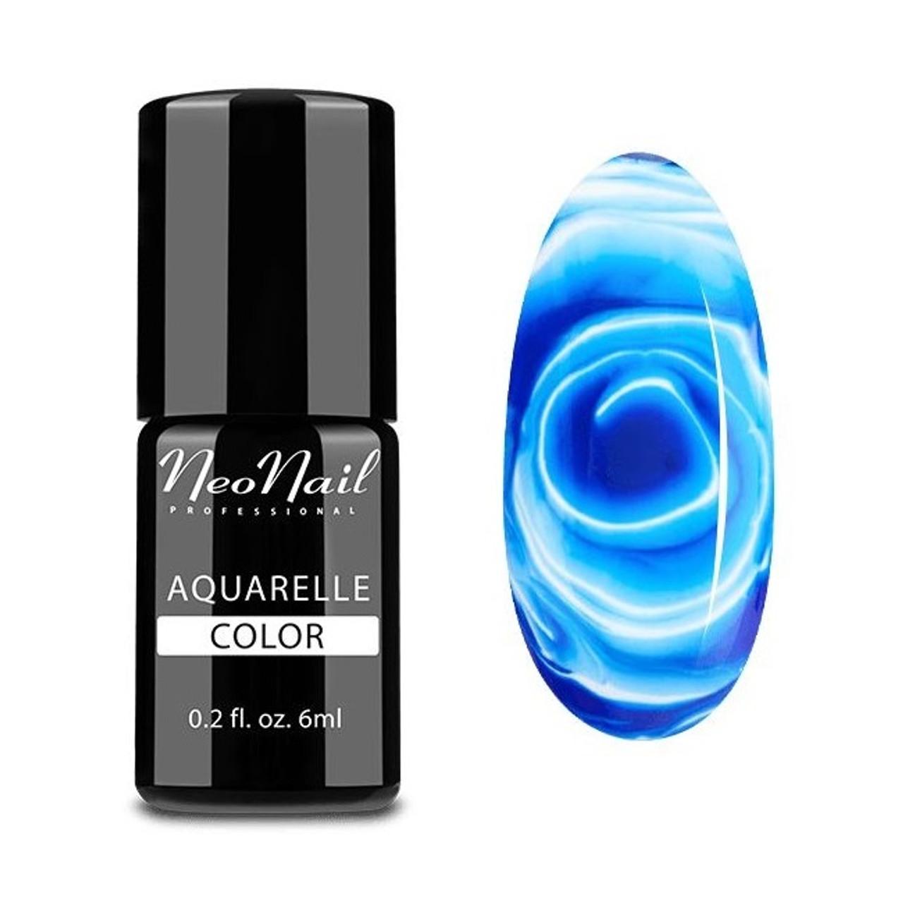 Hybrid Nail Polish 6 ml - Navy Aquarelle - Fashion Mouse