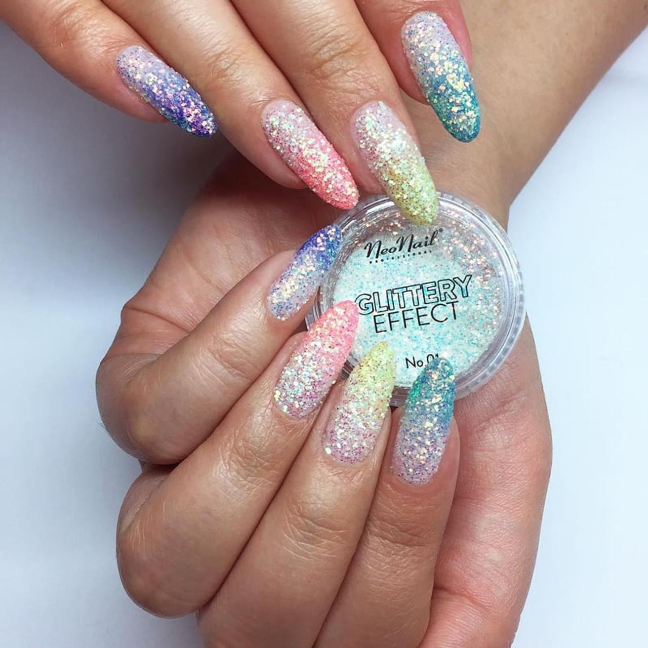 Glittery Powder Effect