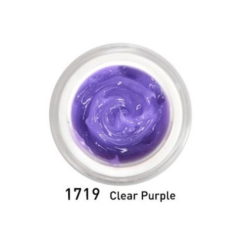 Hard Jelly & Builder Extenstion Gel - Clear Purple 15 ml