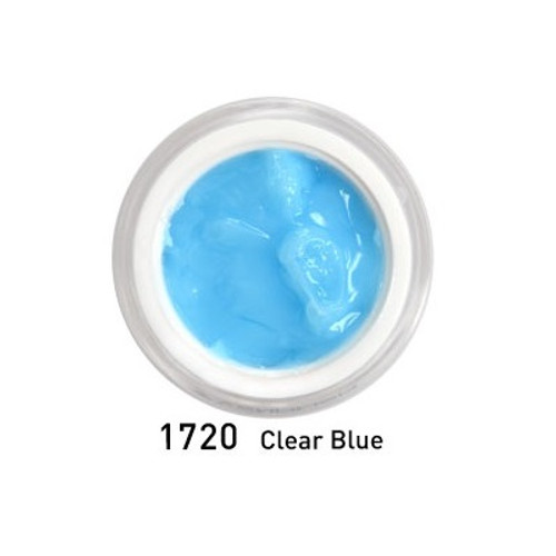 Hard Jelly & Builder Extenstion Gel - Clear Blue 15 ml