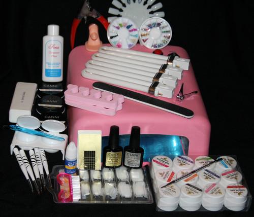 Professional Nail Salon Art Kit - Fashion Mouse