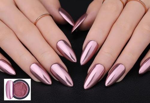 Shining Rose Gold Metal Mirror Effect 1 g