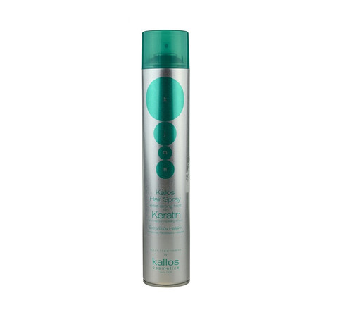 Extra strong hold hair spray with keratin (750ml)