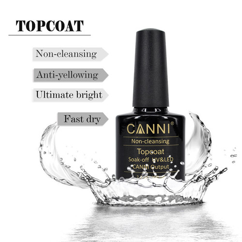 Canni Shellac UV/Led Top Coat (Non-cleansing)