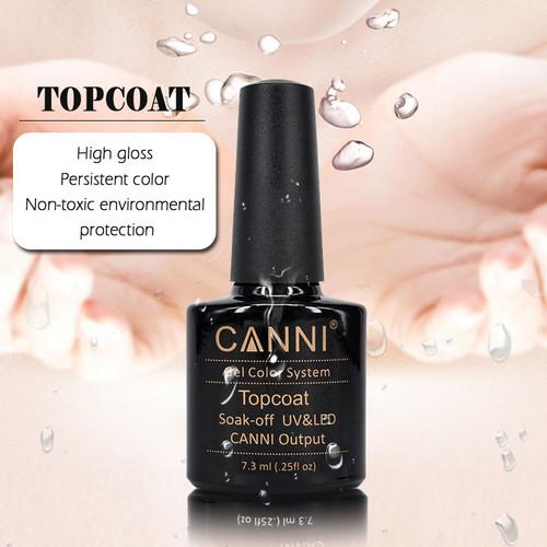 Canni Shellac UV/Led Top Coat (Sticky Layer)