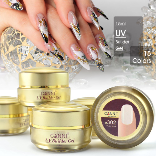 Camouflage nail extension UV gel 15 ml