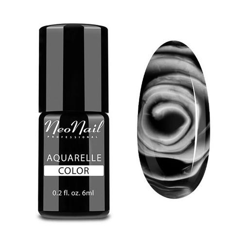 Hybrid Nail Polish 6 ml - Black Aquarelle