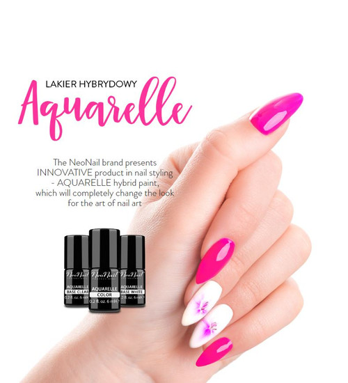 Hybrid Nail Polish 6 ml - Aquarelle Collection