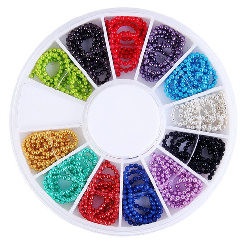 12 Colors Pearl Beads Chain