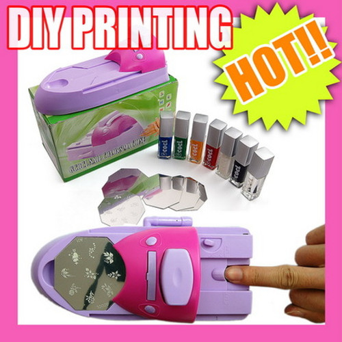 DIY Nail Art Stamp Printer Set