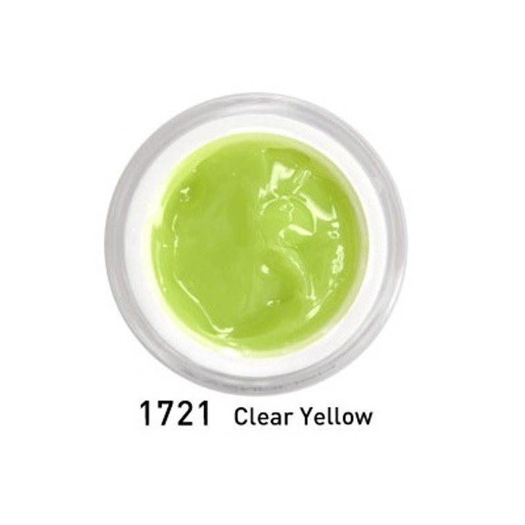 Hard Jelly & Builder Extension Gel - Clear Yellow 15 ml