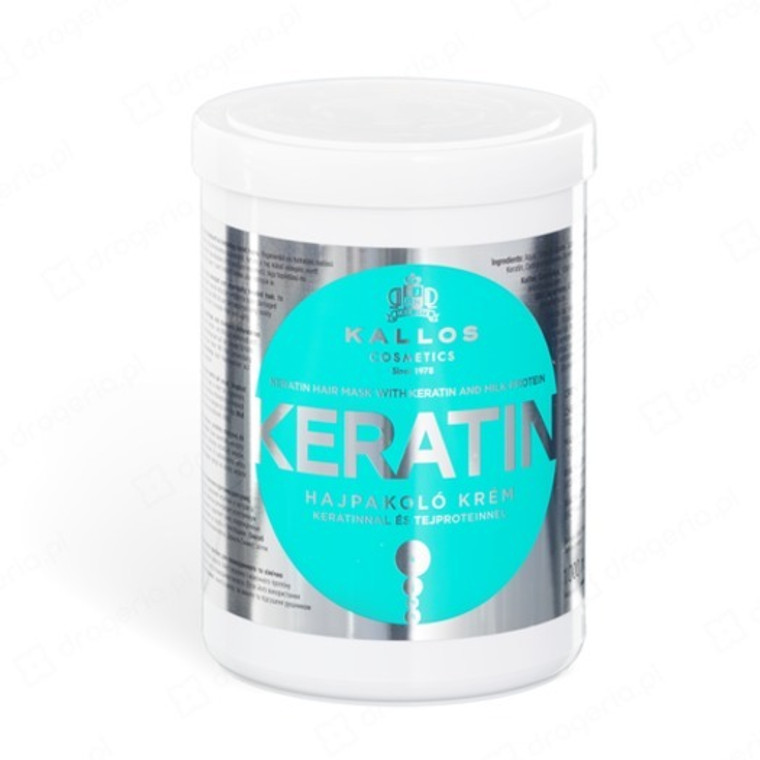 KALLOS Keratin Hair Mask with milk protein 1000ml