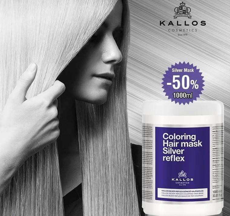 KALLOS Hair mask Silver reflex