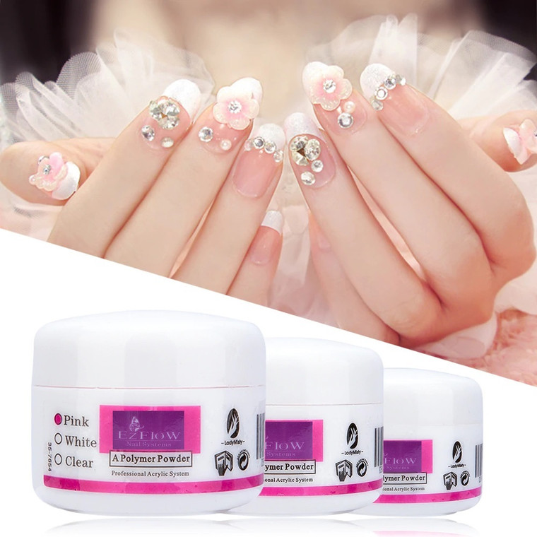 Acrylic Crystal Powder Polymer Poly Gel For Nail Extension Manicure