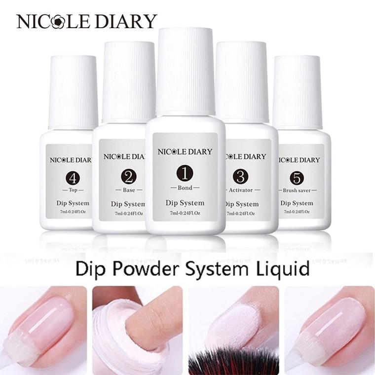 NICOLE DIARY Dipping Nail Powder System Liquid 7 ml