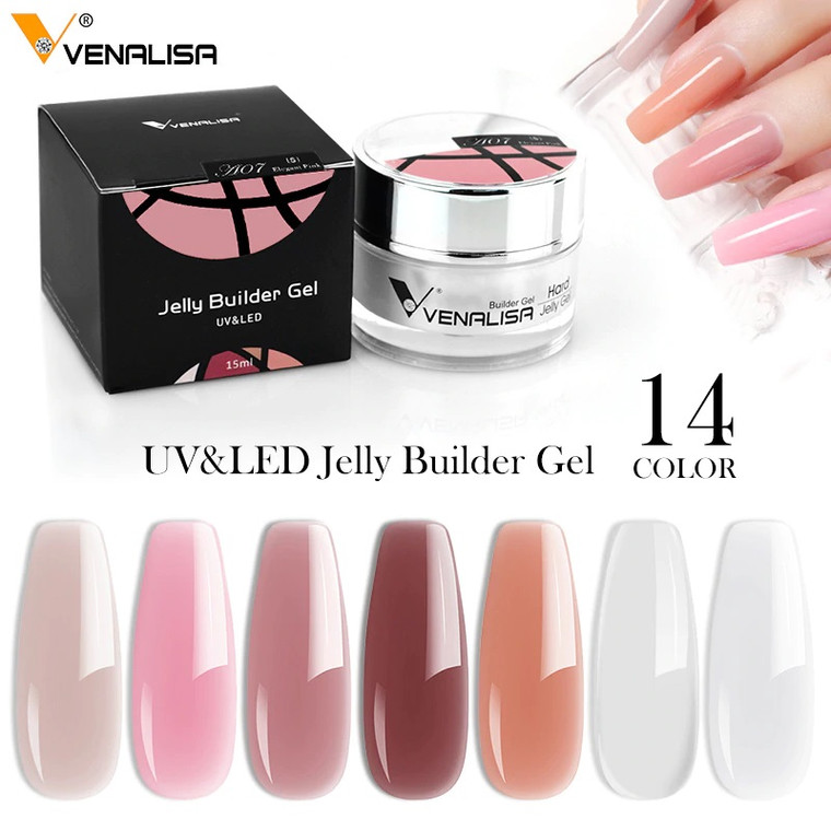 Venalisa Camouflage Nail Extension Jelly Gel 15 ml