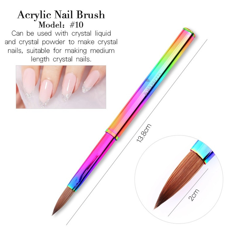Acrylic Extension Crystal Powder Brush