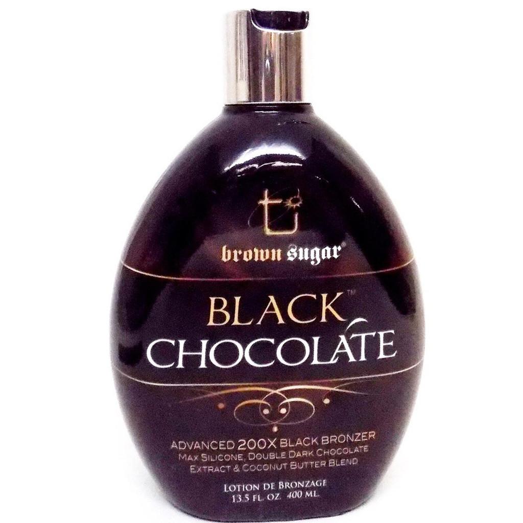 Brown Sugar BLACK CHOCOLATE 200X Black Bronzer - 13.5 oz.