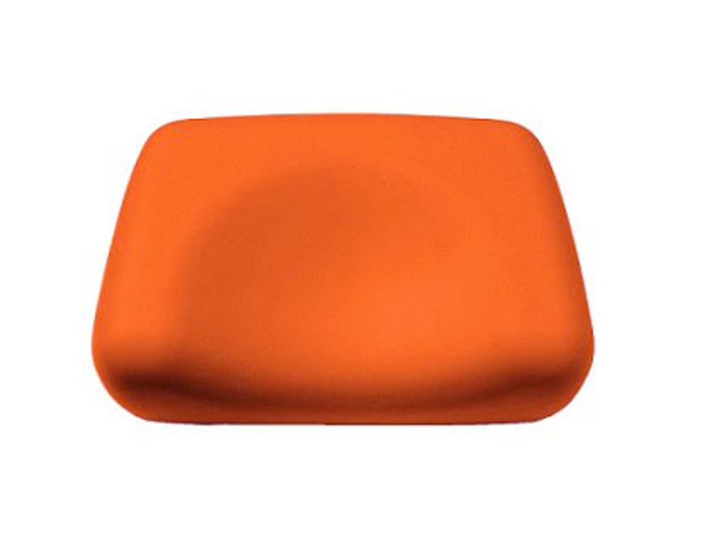 Foam Contoured Tanning Bed Pillow - Orange