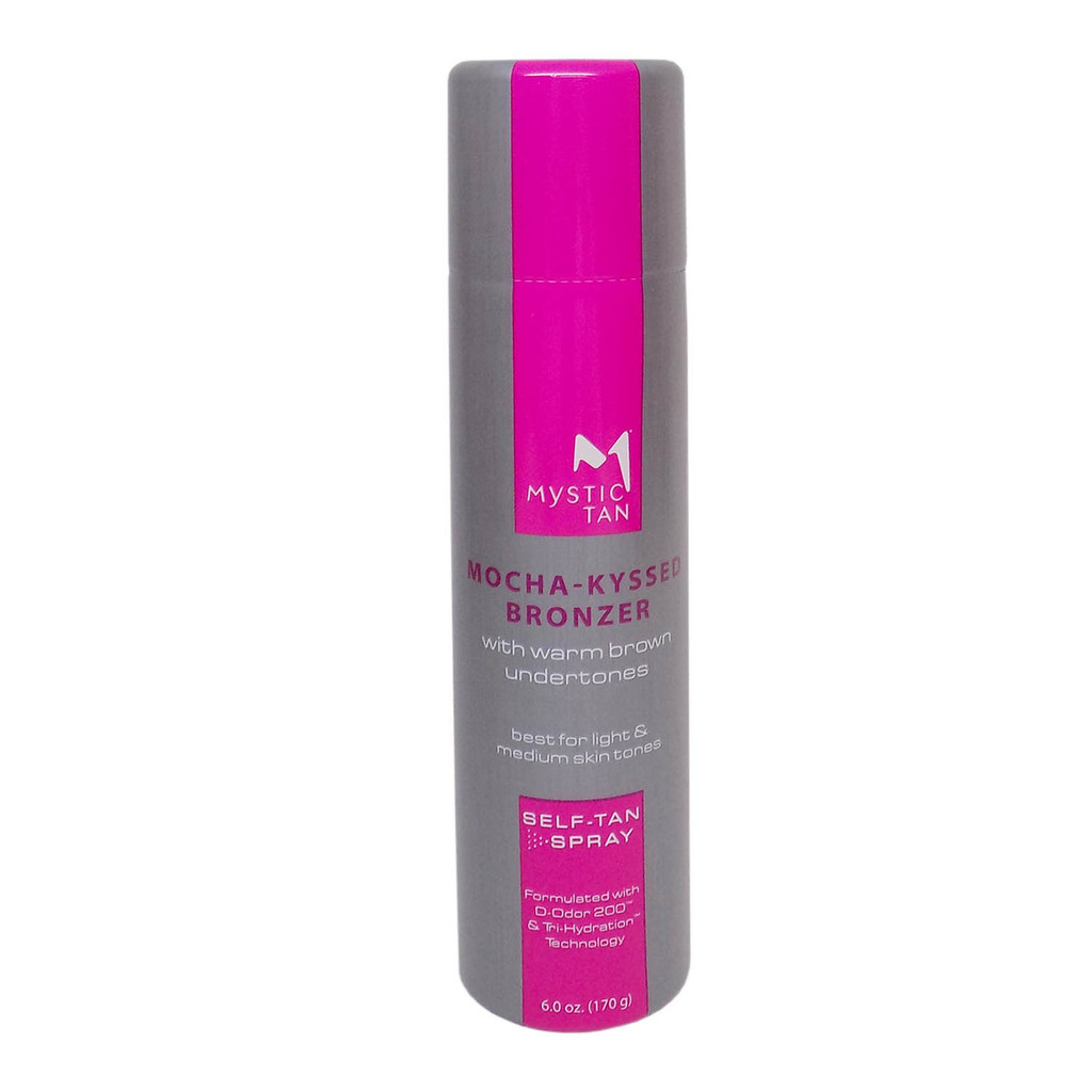 Mystic Tan MOCHA-KYSSED Bronzer Spray - 6 oz.